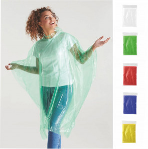 1092 Impervius – Impermeabile Poncho in LDPE