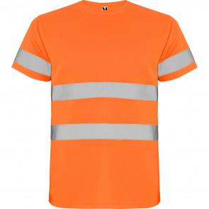 R9310 - Roly Delta T-Shirt Uomo Alta Visibilità